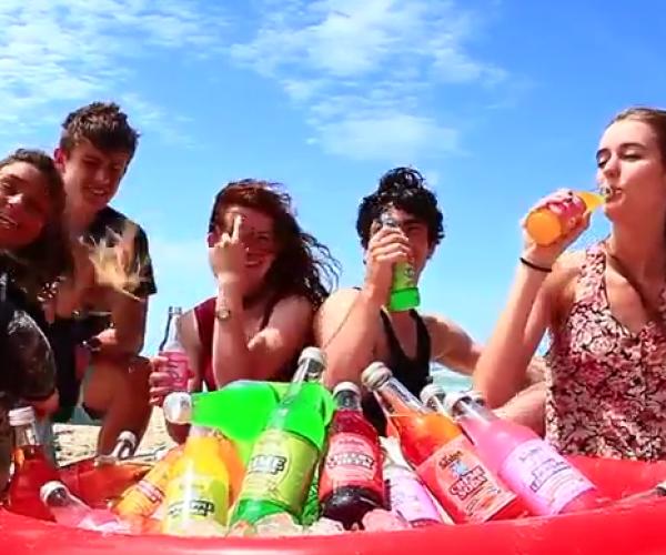 Saxbys Softdrinks - Saxbys Summer